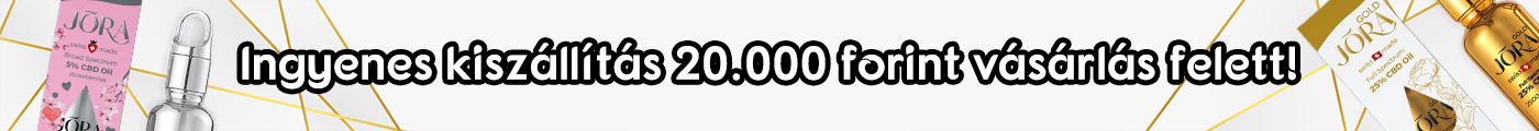 Ingyenes kiszállítás 20000 forint vásárlás felett!