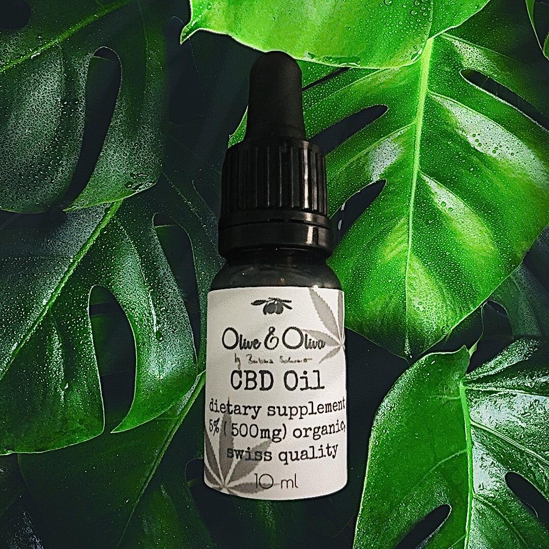Olive & Oliva CBD olaj