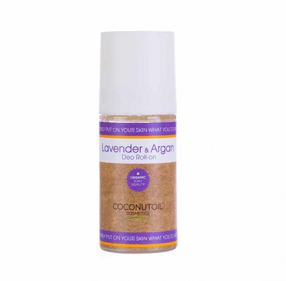Coconutoil Cosmetics Bio Levendulás És Argánolajos Golyós Dezodor 50ml