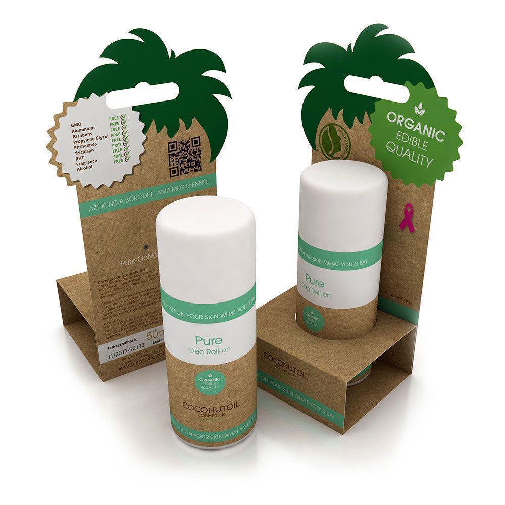 Coconutoil Cosmetics Bio Pure Golyós Dezodor 50ml